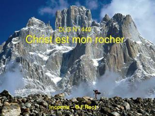 DLG N° 440 Christ est mon rocher