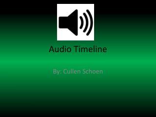 Audio Timeline