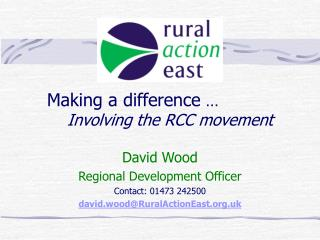 Making a difference  … Involving the RCC movement