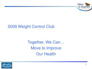 2009 Weight Control Club