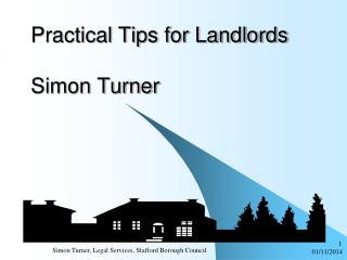 Practical Tips for Landlords Simon Turner