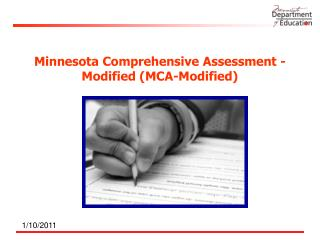 Minnesota Comprehensive Assessment - Modified (MCA-Modified)