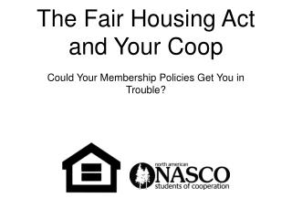The Fair Housing Act and Your Coop