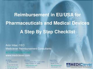 Reimbursement in EU