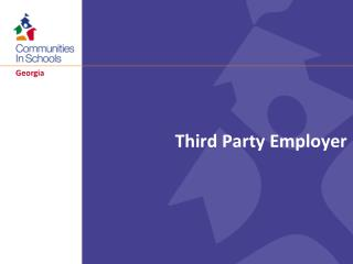 Third Party Employer