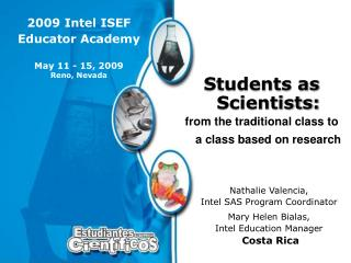 2009 Intel ISEF Educator Academy