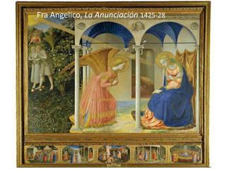 Fra Angelico ,  La Anunciación 1425-28