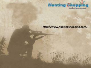 Hunting Shopping Website presentation
