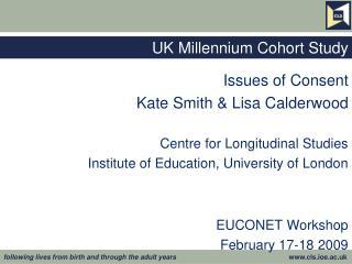 UK Millennium Cohort Study
