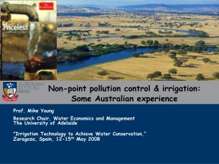 Non-point pollution control & irrigation: Some Australian experience