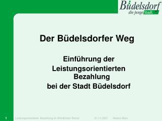Der Büdelsdorfer Weg