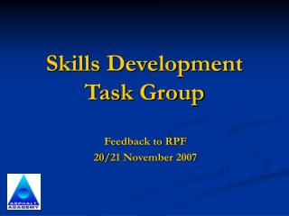 Skills Development Task Group
