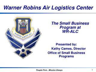 The Small Business Program at WR-ALC