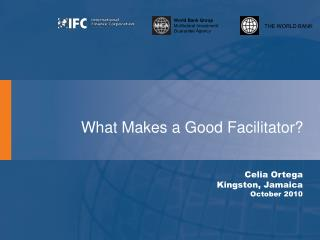What Makes a Good Facilitator?