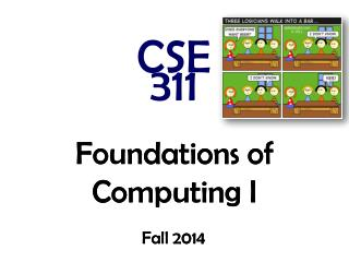 Foundations of Computing I