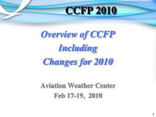 CCFP 2010