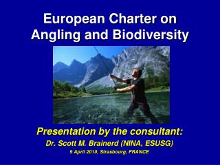 European Charter on  Angling and Biodiversity