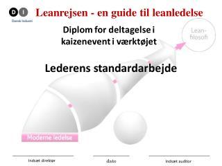 3-1-1 - LSA - Diplom - Deltager