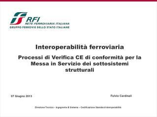 Interoperabilità ferroviaria