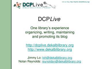 DCP Live