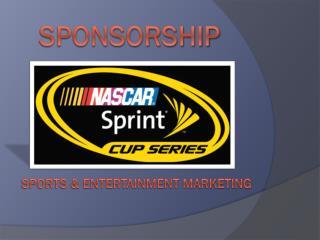 Sports & Entertainment Marketing