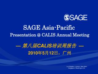 SAGE Asia-Pacific