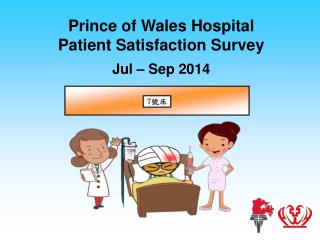 Prince of Wales Hospital Patient Satisfaction Survey Jul  – Sep 2014