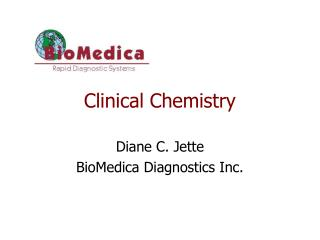 1. Clinical Chemistry