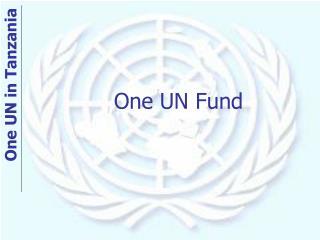 One UN Fund