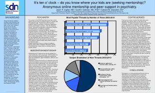 It's ten o' clock – do you know where your kids are (seeking mentorship)?