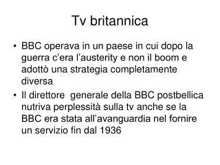 Tv britannica