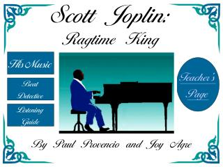 Scott Joplin: Ragtime King