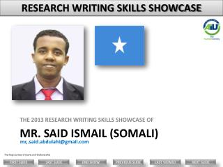 Mr.  said  ismail  (Somali)
