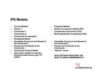 IPS Models