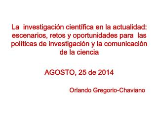 Orlando Gregorio-Chaviano
