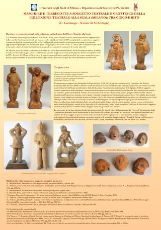 Università degli Studi di Milano – Dipartimento di Scienze dell'Antichità