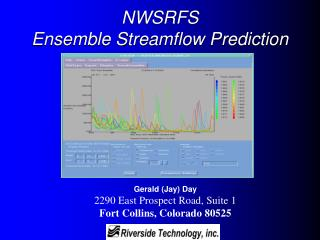NWSRFS Ensemble Streamflow Prediction