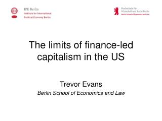 The limits of finance-led capitalism in the US