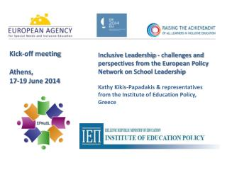 Kick-off meeting Athens,  17-19 June 2014
