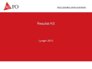 Resultat KS