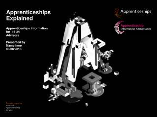 Apprenticeships Explained