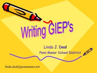 Linda J. Deal Penn Manor School District
