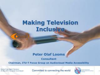 Making Television Inclusive