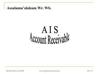 Assalamu'alakum Wr. Wb.