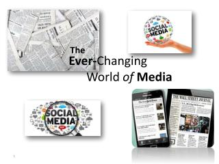 Ever- Changing                World  of Media