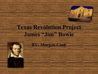 Texas  R evolution Project James �Jim� Bowie