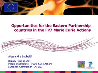 Opportunities for the Eastern Partnership countries in the FP7 Marie Curie Actions