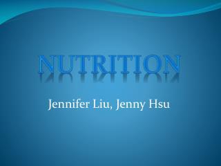 Jennifer Liu, Jenny Hsu