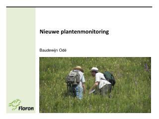 Nieuwe plantenmonitoring