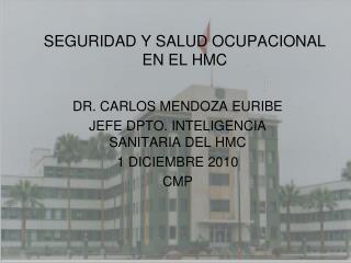 SEGURIDAD Y SALUD OCUPACIONAL EN EL HMC
